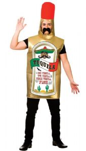 Tequila Bottle Costume Stag Party costume